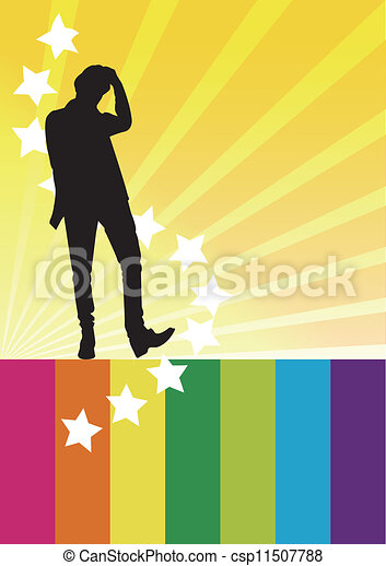 個人, 極度, アイドル - csp11507788