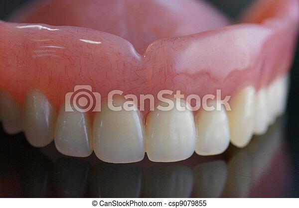 假牙, 充分 - csp9079855