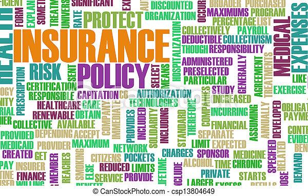 健康保険 - csp13804649