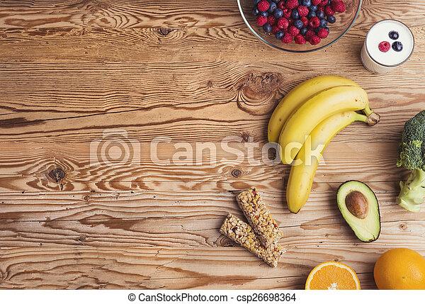 健康的食物, 作品 - csp26698364