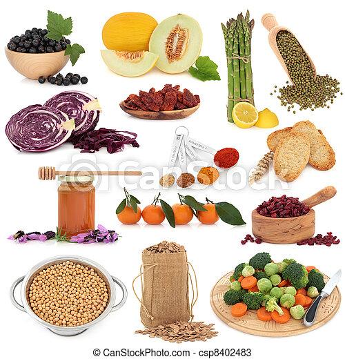 健康的食物, 取樣器 - csp8402483