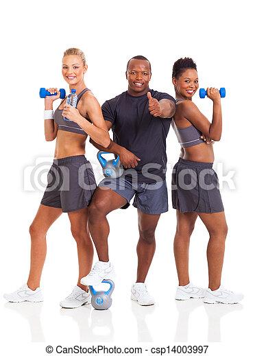 健康, グループ, 若い人々 - csp14003997