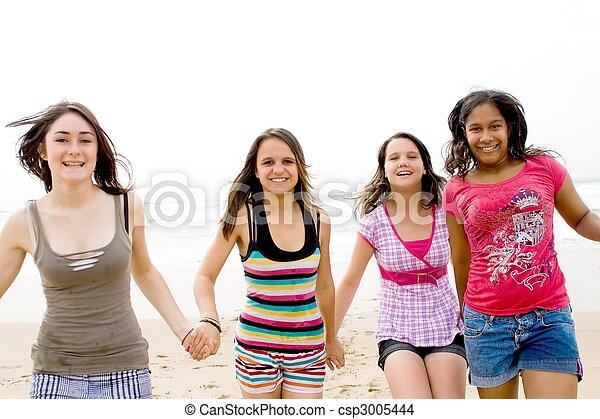 健康, 十代の若者たち - csp3005444