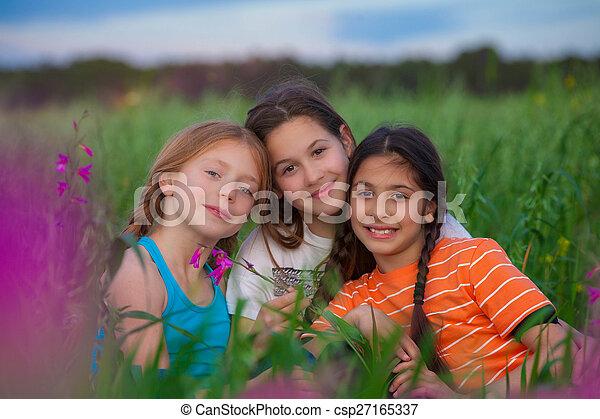 健康, 子供, 幸せ - csp27165337