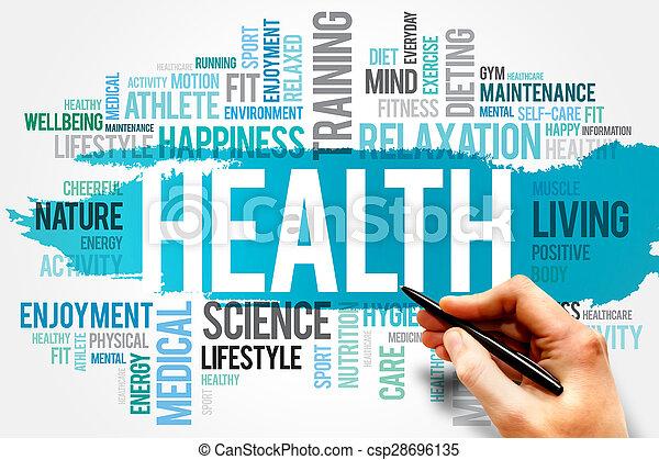 健康 - csp28696135