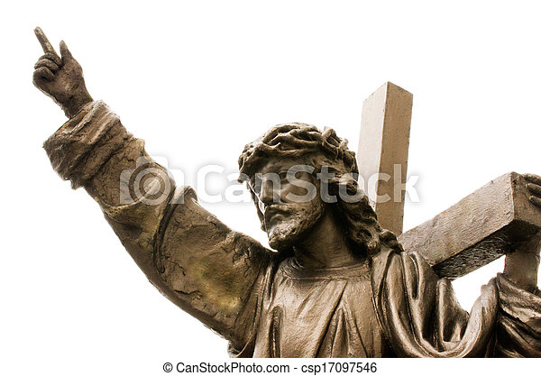 像, イエス・キリスト - csp17097546