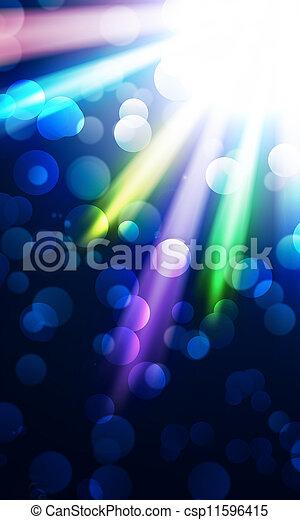 光, 上色, 聚光燈 - csp11596415