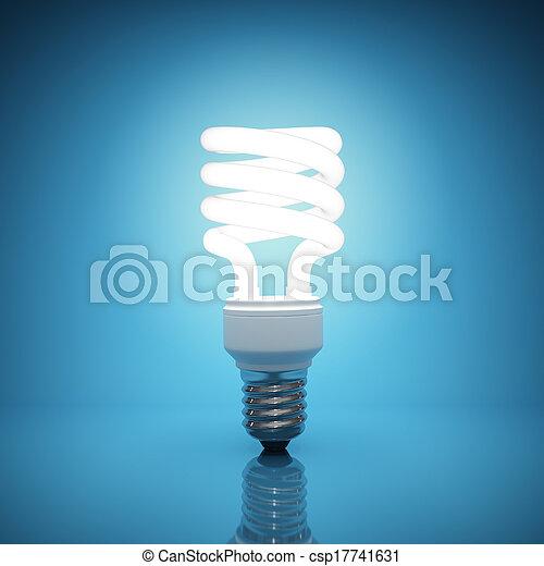 光, 照明, 燈泡 - csp17741631