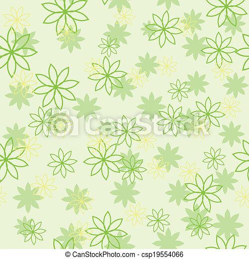 光, 花, 綠色, 圖案 - csp19554066