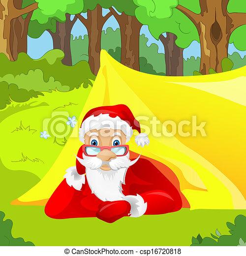 克勞斯, 聖誕老人 - csp16720818