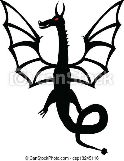 入れ墨, ドラゴン - csp13245116