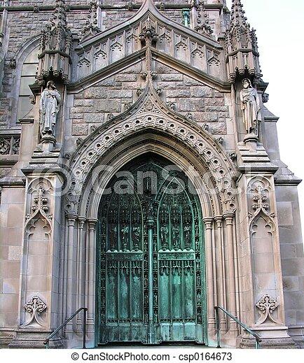 入口, 教会 - csp0164673