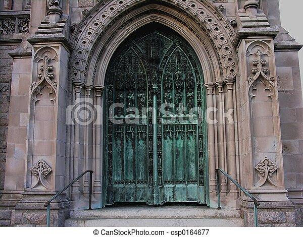 入口, 教会 - csp0164677