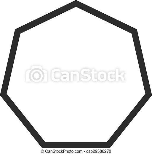 八角形 - csp29586270