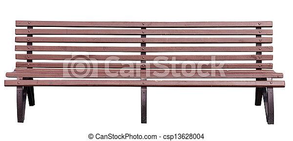 公園のベンチ - csp13628004