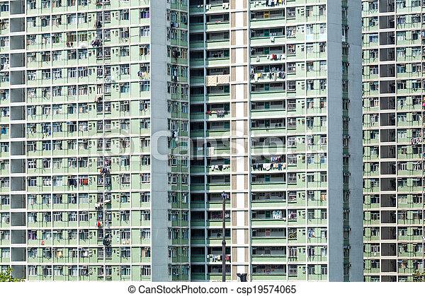 公衆, ハウジング, 香港 - csp19574065
