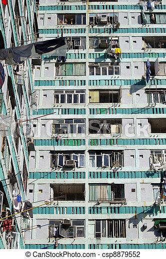 公衆, ハウジング, 香港 - csp8879552