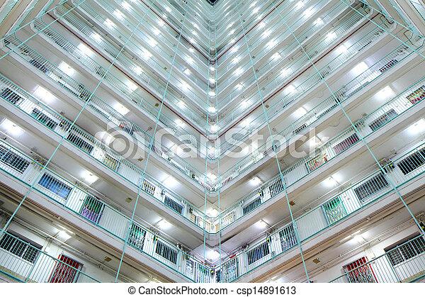 公衆, ハウジング, 香港 - csp14891613