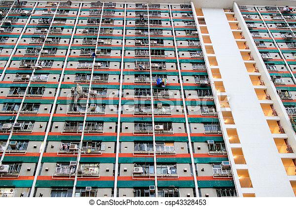 公衆, kong, 家, 財産, hong - csp43328453