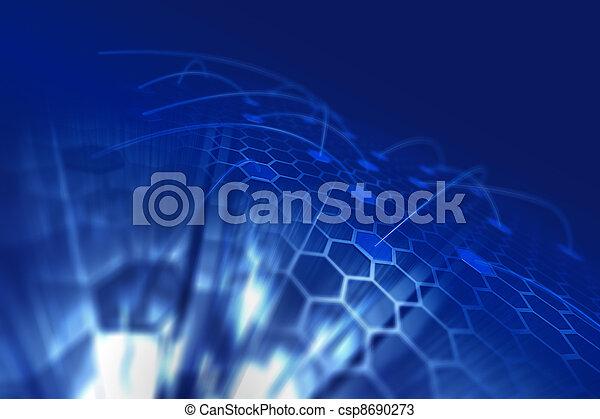 六角形, ディスプレイ - csp8690273