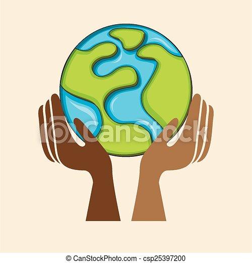 共同体, multiethnic - csp25397200