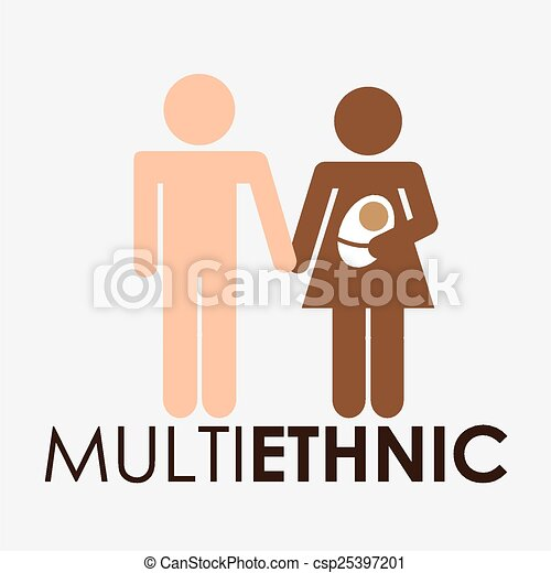 共同体, multiethnic - csp25397201