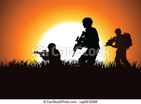 兵士 - csp5616368