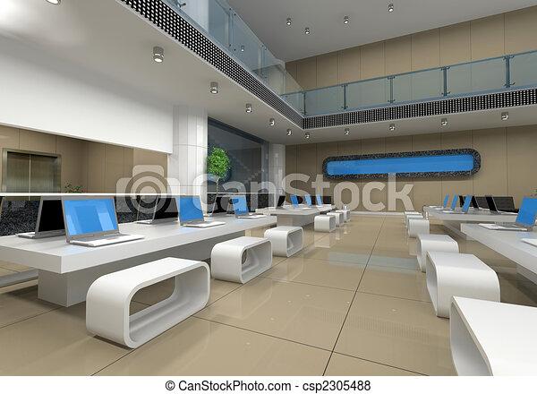 内部, オフィス - csp2305488