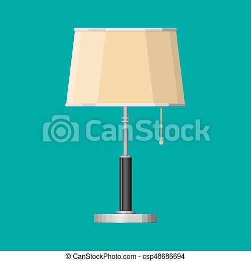 内部, lamp., 家具, 照明装置 - csp48686694