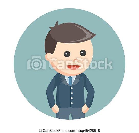 円, ビジネス, 背景, 子供 - csp45428618