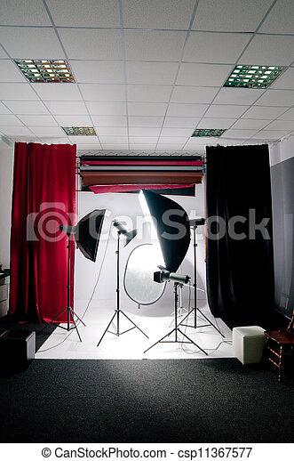 写真の スタジオ - csp11367577