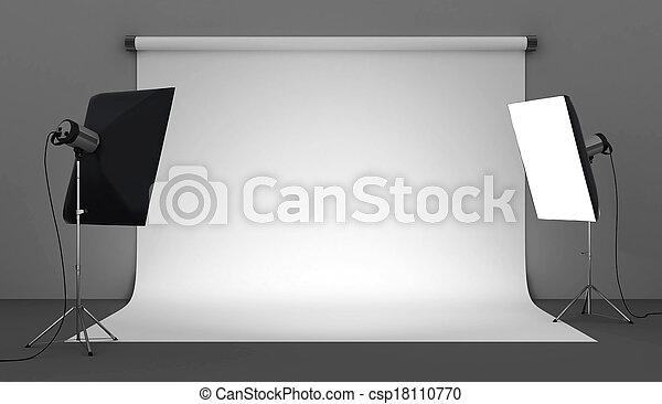 写真の スタジオ - csp18110770