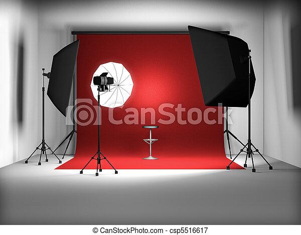 写真の スタジオ - csp5516617