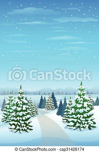 冬ツリー 雪 松 背景 森林 クリスマス 風景 森 冬 雪 木 背景