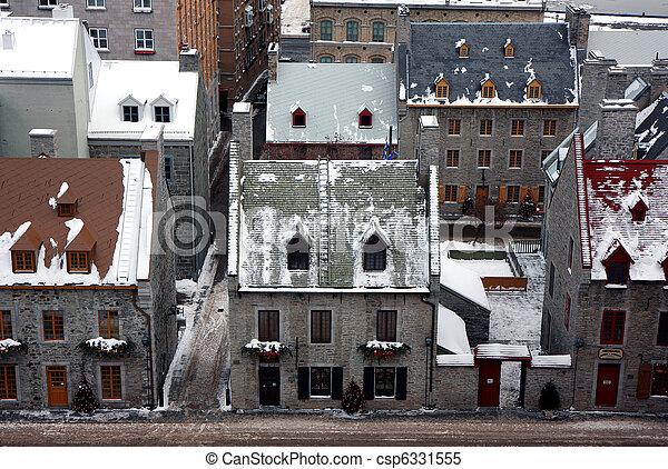 冬, ケベック - csp6331555