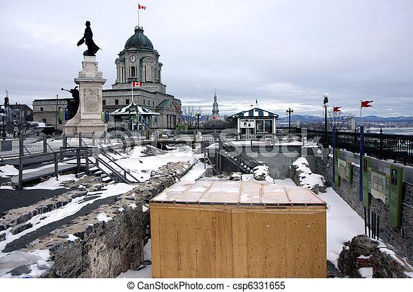 冬, ケベック - csp6331655