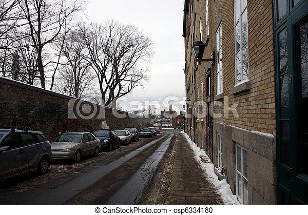 冬, ケベック - csp6334180