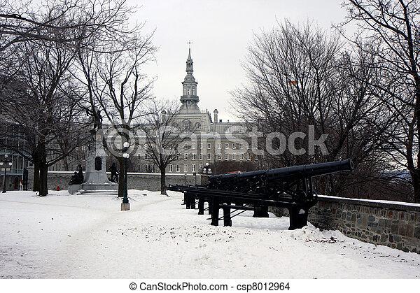 冬, ケベック - csp8012964