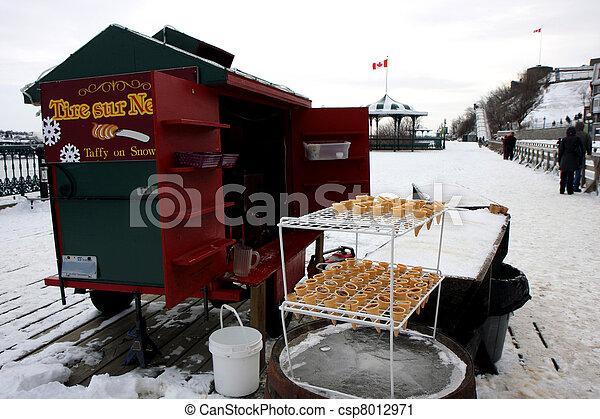 冬, ケベック - csp8012971