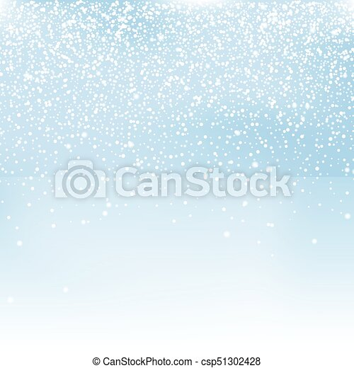 冬, 雪, イラスト, ベクトル, 背景, クリスマス - csp51302428