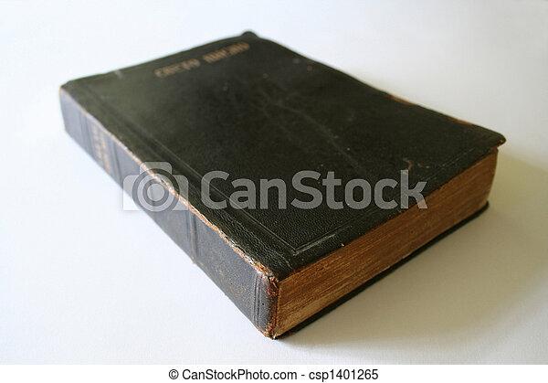 出版された, 1940, 聖書, 私, 祖父 - csp1401265