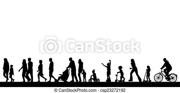 出費, 人々, 活発に, 時間 - csp23272192