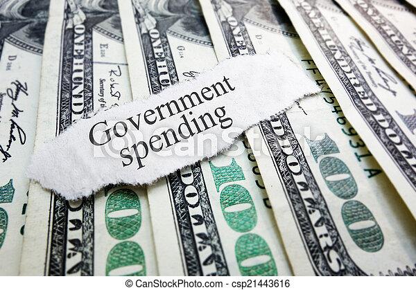 出費, 政府 - csp21443616