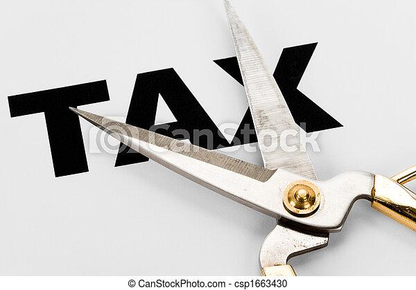 切口, 税 - csp1663430