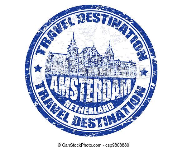 切手, アムステルダム - csp9808880