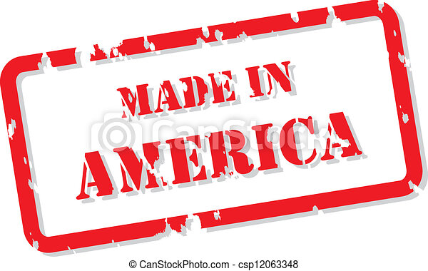 切手, アメリカ - csp12063348