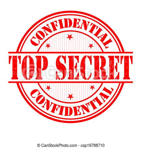 切手, トップの秘密 - csp19788710