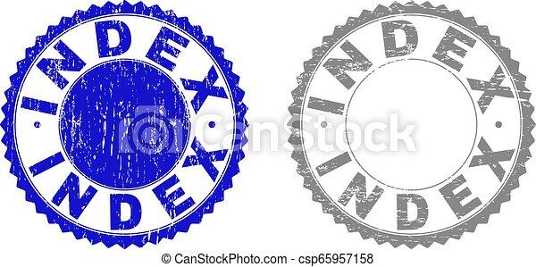 切手, 索引, textured, グランジ, シール - csp65957158
