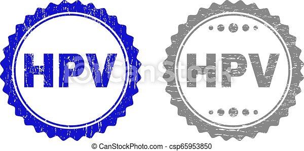 切手, textured, グランジ, hpv, シール - csp65953850