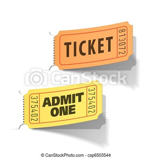 切符, 入口 - csp6503544